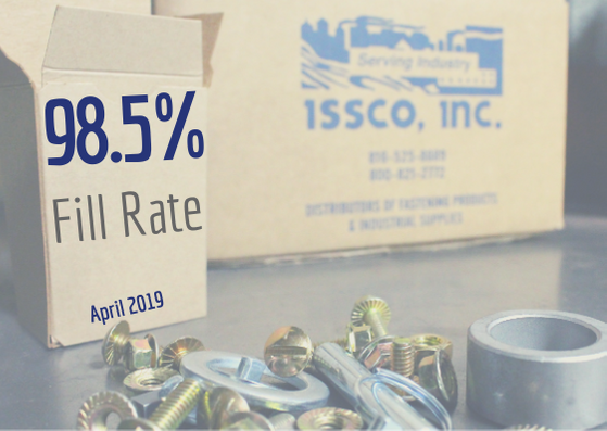 April FillRate ISSCO