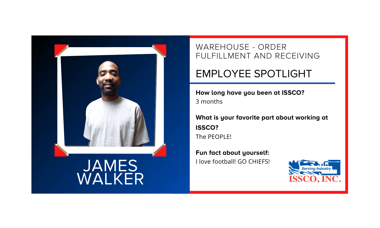 Employee Spotlight ISSCO