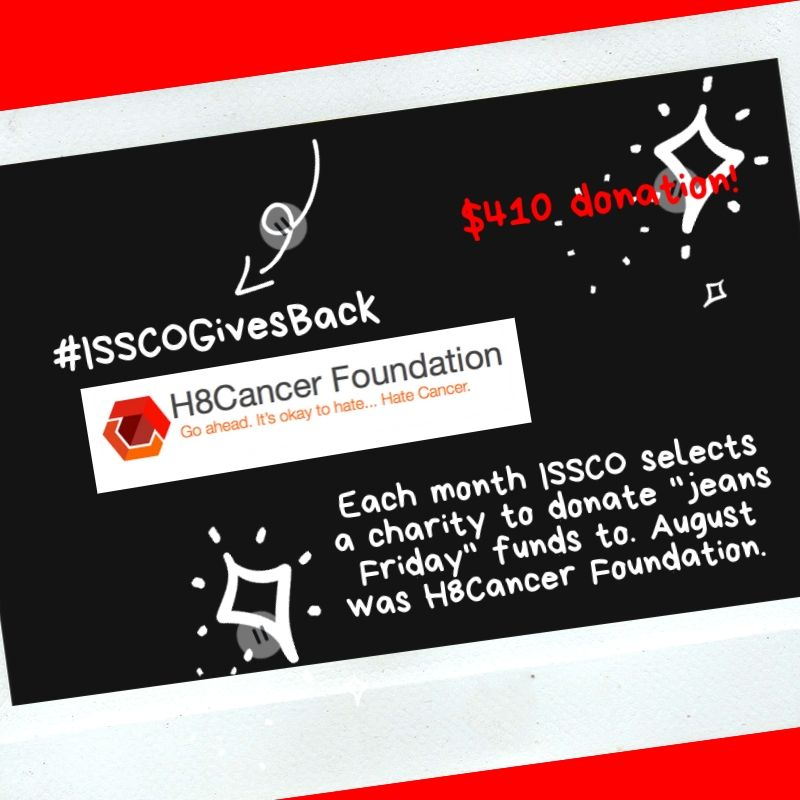 ISSCOGivesBack